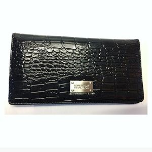 Kenneth Cole Reaction | Faux Snake Skin Wallet
